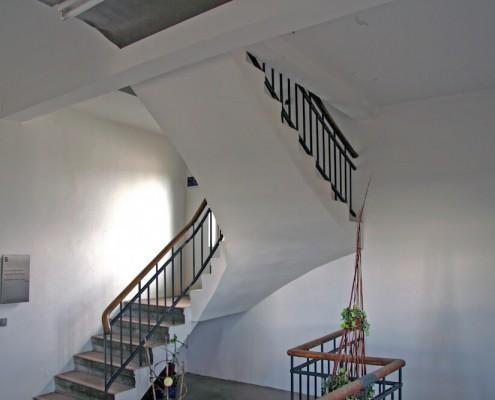 Treppenhaus im DeltaWerk
